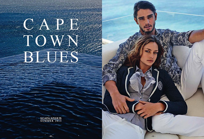 Marlon Teixeira for Scapa Sports Summer 2013
