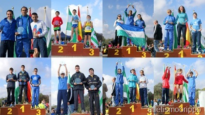 4ª Jornada Circuito Provincial Campo a Traves (EL Coronil 2012) Individual