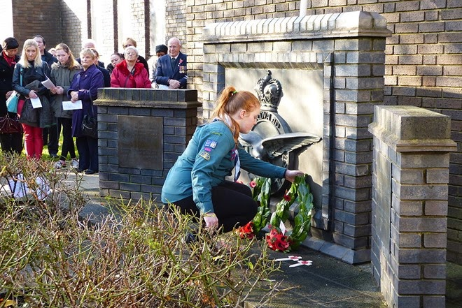 Remembrance Day in Castle Vale
