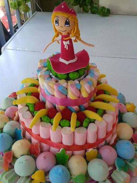 tarta chuches princesa