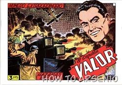 P00040 - El Capitán Valor-Una Meda