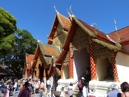 Obiective turistice Chiang Mai: Manastirea Doi Suthep