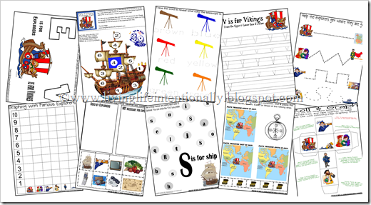 Printables Early Explorers Worksheets explorers part free preschool pack