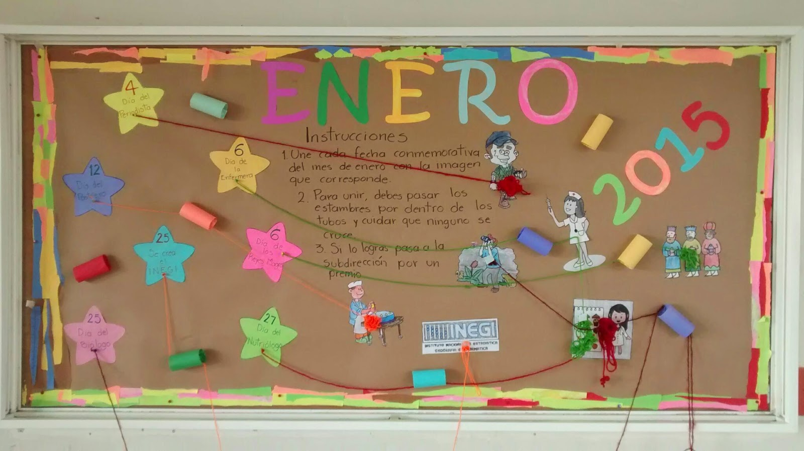 Periodico mural junio primaria for El mural pelicula online