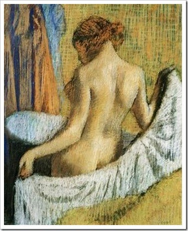 Degas, Aprés le bain
