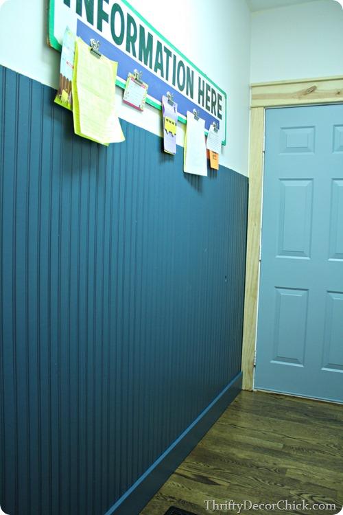 blue beadboard