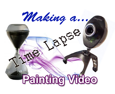 time lapse painting video
