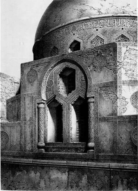 Tekiyat al-Shaykh Hasan Sadaqa, 16th century. Sultan Selim added the 16th-century tekiya to a 14th-century mosque to house Mawali Sufis. The structure's silhouette is delineated by the dome, which nests on a cubical base, The large circular interior was used by whirling dervishes.