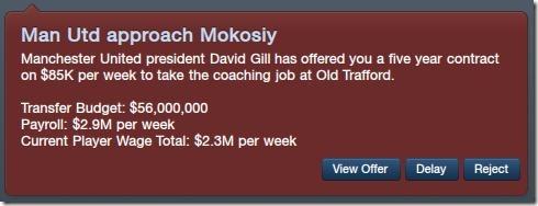 Man Utd approach Mokosiy