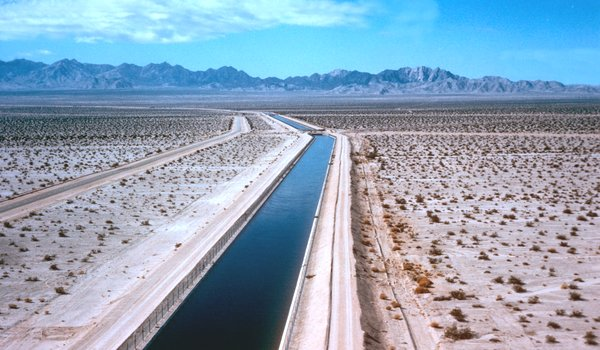 The Colorado River Aqueduct, a lifeline to Southern California. Metropolitan Water District of Southern California, via Associated Press