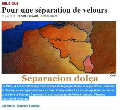 separacion dolça belgica