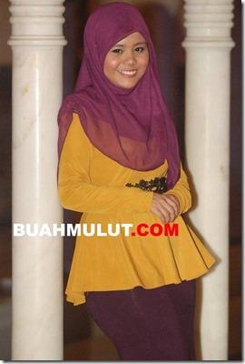 Gambar terkini Najwa Latif yang semakin berisi 2