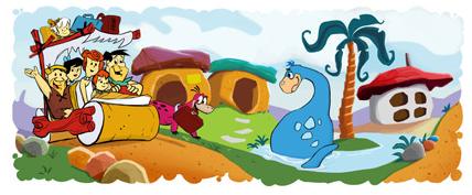 Flintstones'-50th-Anniversary-doodle