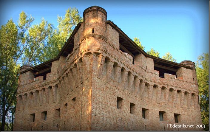 Rocca possente di Stellata - Mighty fortress of Stellata, Ferrara, Italy, photo2