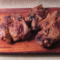 Lemon Curried Lamb Chops