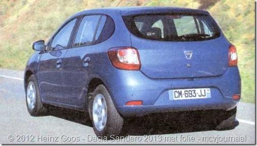 Folie Dacia Sandero Stepway 05