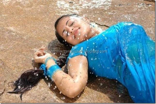 Sindhu_Menon_hot_Wet_saree_02