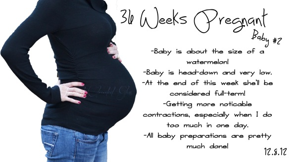 35 weeks pregnant baby position