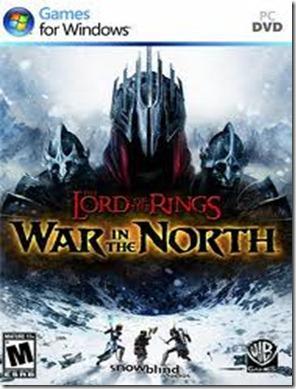 Senhor dos anéis gerra do norte