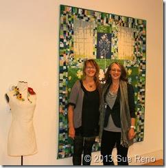 Karen Paust, Sue Reno, PAE Gallery