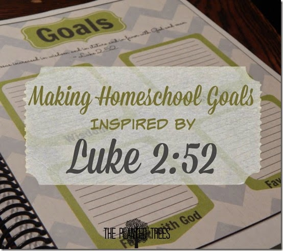 Homeschool Goals Sheet