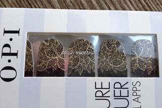 OPI Pure Lacquer Nail Apps in Gold Lace