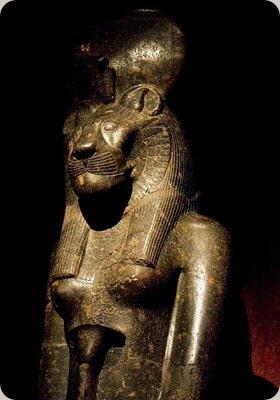 museo egizio torino Statue_of_Sekhmet