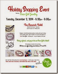 2014 Holiday Open House Flyer