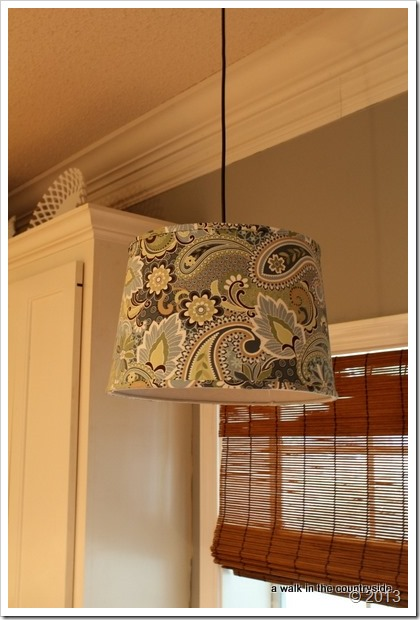 from recessed light to pendant light