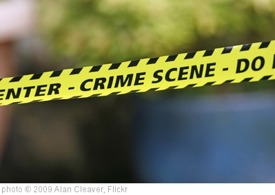 'Crime Scene' photo (c) 2009, Alan Cleaver - license: http://creativecommons.org/licenses/by/2.0/