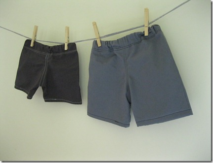baby shorts, size 6-12 months and 12-18 months (6)