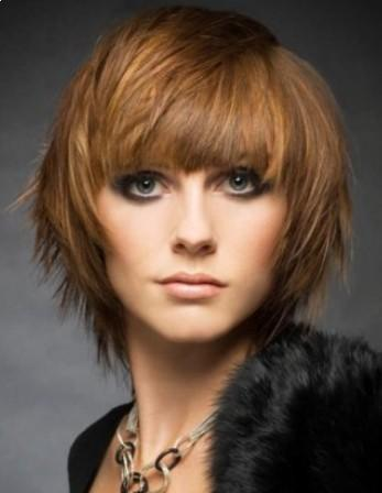 Short Layered Hairstyle 2013