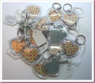 Happy Holiday Keyrings