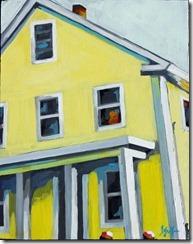 tellow house