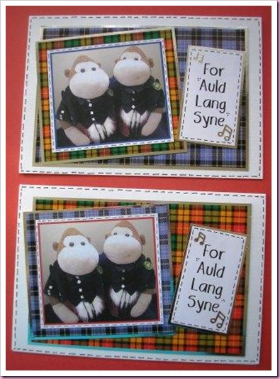 For Auld Lang Syne Card
