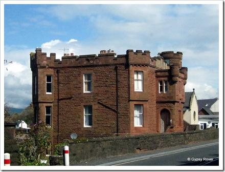 When is a castle not a castle. When it's a house in Wemyss Bay.