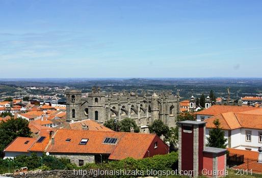 Gloria Ishizaka - Guarda - Sé Catedral - vista a partir da Torre de Menagem
