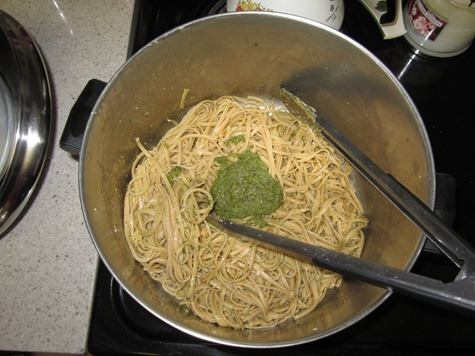 pesto linguine 046