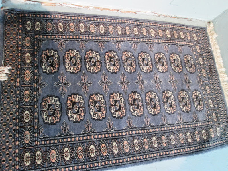 Small Dark Blue Rug
