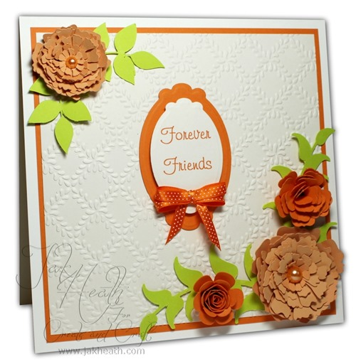 Flower Blush card