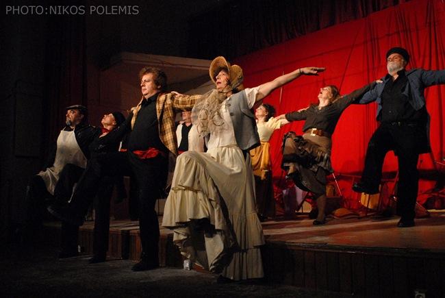 Φωτογραφίες από τις πρόβες της παράστασης «Ριζοσπάστες»