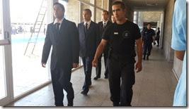 Cerca de 100 aspirantes realizaron los exámenes en el predio de la Escuela de Policía de La Costa