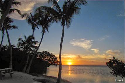 Sunset at Sunshine Key Rv Resort