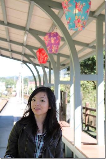 平溪火車站月台