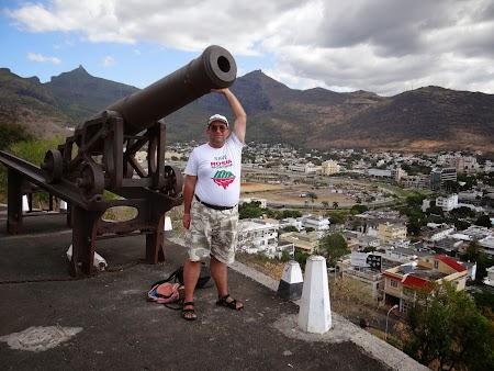 Obiective turistice Mauritius: Fortul din Port Louis
