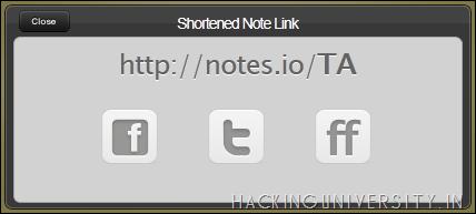 Notes.io - Incredible Notes Sharing
