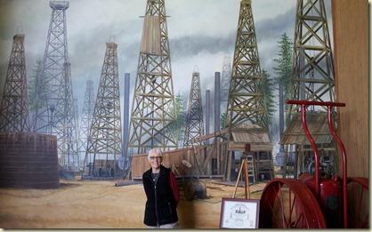 Rockey at East Texas Oil Museum, Kilgore, TX