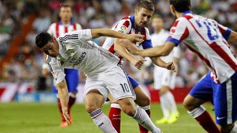 Atlético de Madrid vs Real Madrid  en vivo - Final Supercopa de España 2014