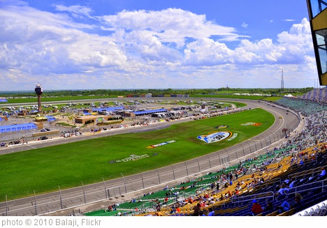 'The Kansas Speedway' photo (c) 2010, Balaji - license: https://creativecommons.org/licenses/by-sa/2.0/