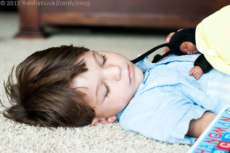Scott sleeping on floor blog-1